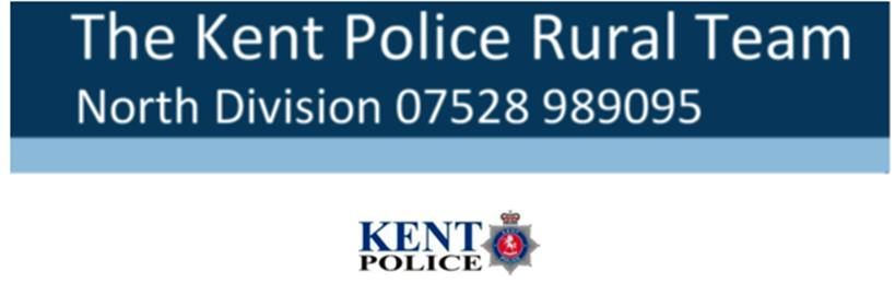 - -- Kent Police Rural Team