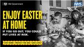 STAY AT HOME THIS EASTER