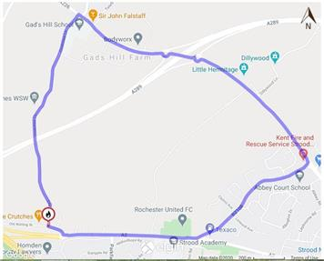 - Temporary Road Closure - Crutches Lane, Higham - 26th October 2020 for 3 days